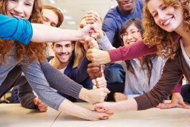 laget som precis lärt sig mångkulturell kommunikation